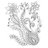 Fleurs d'imagination illustration stock