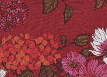 Fleurs dans des couleurs d'automne Images stock