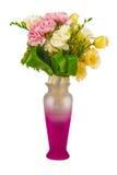 Fleurs dans un pot Photo stock