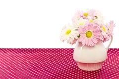 Fleurs dans un vase Image libre de droits