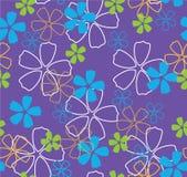 fleurs de bleu de fond Image libre de droits