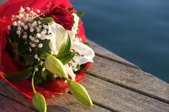 Fleurs de bord de la mer Image libre de droits