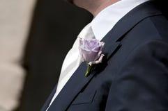 Fleurs de boutonnière Photo libre de droits