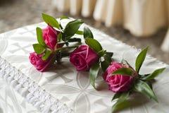 Fleurs de boutonnière Images stock