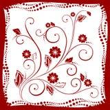 Fleurs de Brown illustration libre de droits