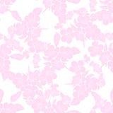 Fleurs de cerisier de brindille seamless Images stock
