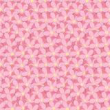 Fleurs de chevauchement Illustration Libre de Droits