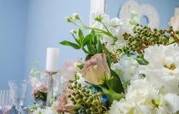 Fleurs de décor photo stock