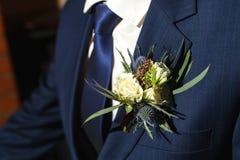 Fleurs de décor et de beatifull de mariage Photo stock