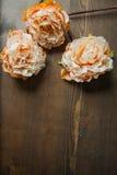 Fleurs de dentelle sur le fond foncé Photographie stock