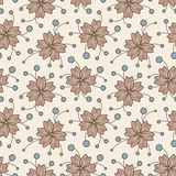 Fleurs de dessin animé Photographie stock