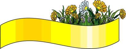 Fleurs de drapeau Photo stock