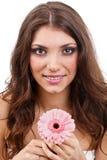 Fleurs de fixation de femme Photo libre de droits
