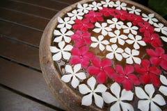 fleurs de flottement Photos stock