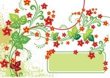 fleurs de fond Photographie stock libre de droits