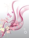 Fleurs de fond Image stock