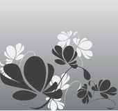 Fleurs de fond illustration stock