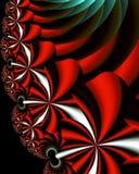 Fleurs de fractale Photographie stock