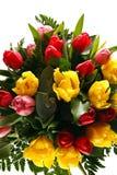 fleurs de groupe images stock