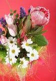 fleurs de groupe Images libres de droits
