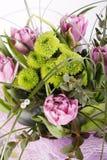 fleurs de groupe Photographie stock libre de droits