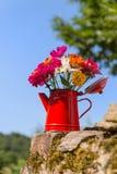 Fleurs de jardin de bouquet Images libres de droits