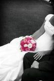 fleurs de la mariée Photo libre de droits