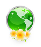 fleurs de la terre Photos libres de droits