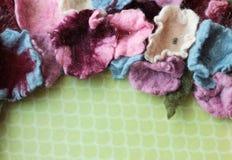 Fleurs de laine images stock