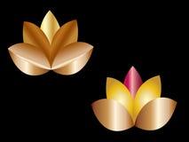 Fleurs de lotus illustration de vecteur