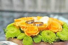 Fleurs de mariage Images libres de droits