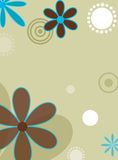 Fleurs de modèle Image stock