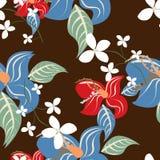 Fleurs de modèle de texture Images stock