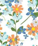 Fleurs de modèle de texture Photo stock