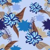 Fleurs de modèle de texture Photos stock