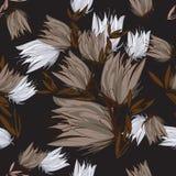 Fleurs de modèle de texture Image libre de droits