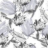 Fleurs de modèle de texture Images libres de droits
