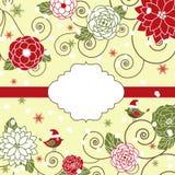 Fleurs de Noël Photo stock