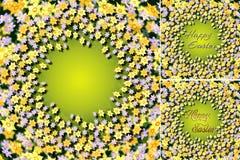 Fleurs de Pâques Image libre de droits