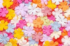 Fleurs de papier Image libre de droits
