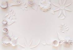 Fleurs de papier Photographie stock libre de droits