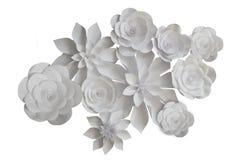 Fleurs de papier photo stock