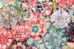 Fleurs de papier artificielles Photographie stock libre de droits