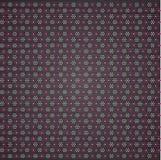 Fleurs de points de polka Image libre de droits