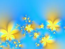 Fleurs de printemps illustration de vecteur
