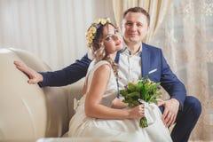 Fleurs de sentiment de mariage Photo stock