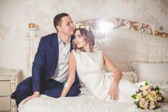 Fleurs de sentiment de mariage Photos libres de droits