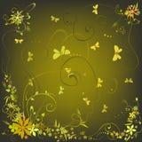 Fleurs de source Image libre de droits