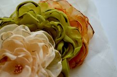 Fleurs de textile Images stock