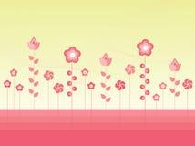 Fleurs de vecteur Illustration Stock